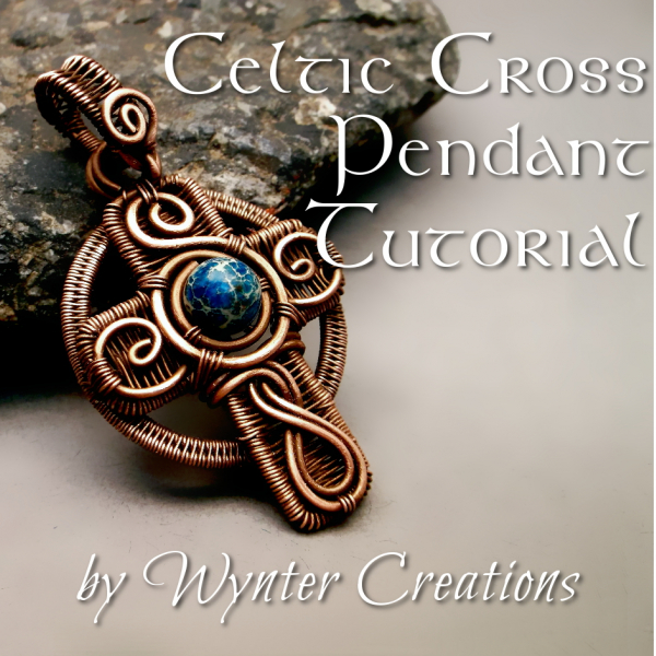 Wire Work Celtic Cross Pendant Pattern