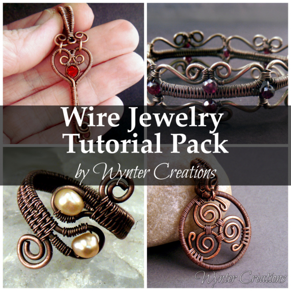 Wire Wrapped and Wire Work Jewelry Tutorial Pack | WynterCreations