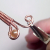 Double Gem Wire Woven Ring Tutorial Image 4