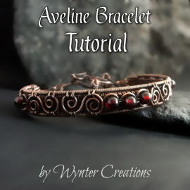 Aveline Wire Wrapped Bracelet Tutorial