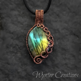 gemstone copper jewelry