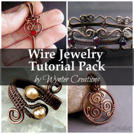 Wire Jewelry Tutorial Pack