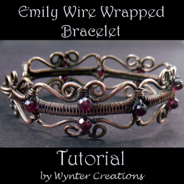 Emily Wire Wrapped Bracelet Tutorial