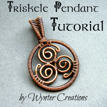 Celtic Triskele Pendant Tutorial
