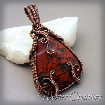 Red Forest Pendant