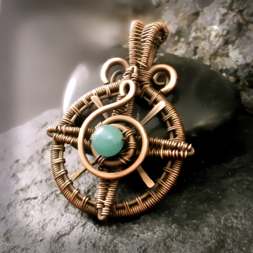 True North Compass Pendant