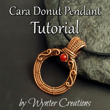 Cara Donut Sunglasses Pendant TUTORIAL